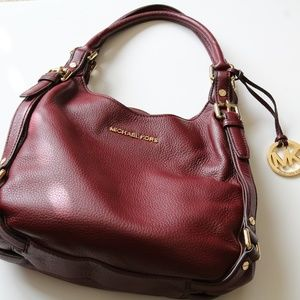 Michael Kors Burgundy shoulder bag